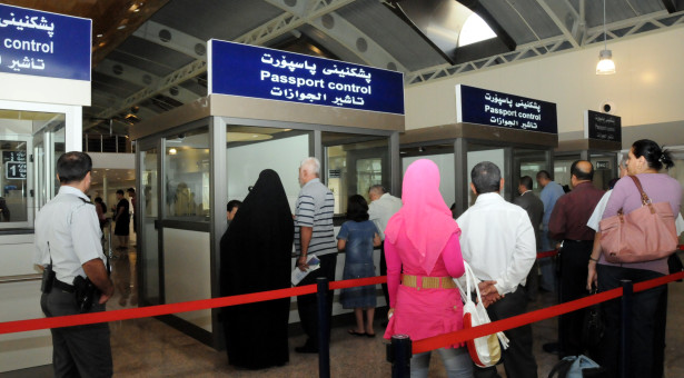 10 people arrested at sulaimanyah Airport